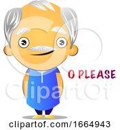 Poster, Art Print Of Kind Old Man
