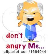 Poster, Art Print Of Angry Grandpa