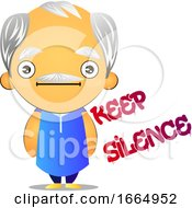 Poster, Art Print Of Silent Old Man