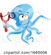 Octopus With Slingshot