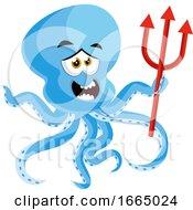 Octopus Holding Devil Spear