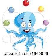 Octopus Juggling