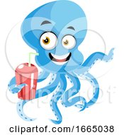 Octopus With Drink