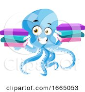 Octopus With Books