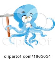 Octopus With Hammer