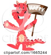 Red Dragon Is Feeling Happy