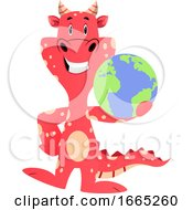 Red Dragon Is Holding Planet