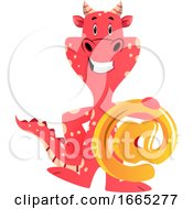 Red Dragon Is Holding At Email Sign