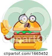 Burger With Glasses