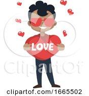 Poster, Art Print Of Boy Is Feeling In Love