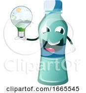 Bottle Is Holding Bulb