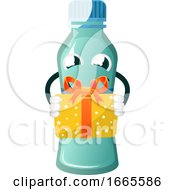 Bottle Is Holding Present