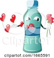 Poster, Art Print Of Bottle Is In Love