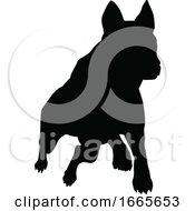 08/30/2019 - Dog Silhouette Pet Animal