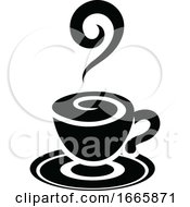 Black And White Coffee Cup