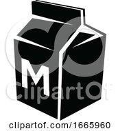 Black And White Milk Carton
