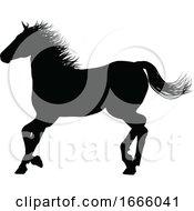 09/03/2019 - Horse Silhouette Animal