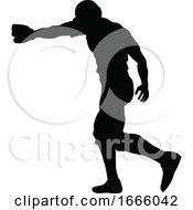 09/03/2019 - Baseball Player Silhouette