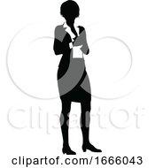 09/03/2019 - Silhouette Business Person