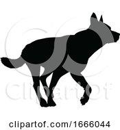 09/03/2019 - Dog Silhouette Pet Animal