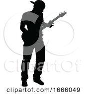 09/03/2019 - Musician Guitarist Silhouette