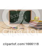Back To School 3d Render