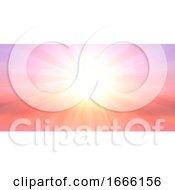 Summer Landscape Banner Design