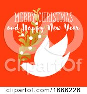 Merry Christmas And Happy New Year Greeting by elena