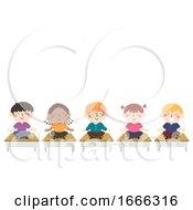 Kids Meditation Class Illustration
