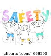 Kids Safety Illustration