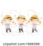Kids Boys Maracas National Hispanic Heritage