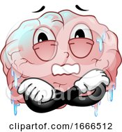 Mascot Brain Freeze Illustration