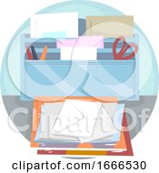 09/08/2019 - Household Chores Bring In Mail Illustration