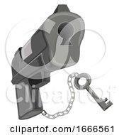 Gun Safety Lock Illustration