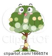 Mascot Family Tree Illustration
