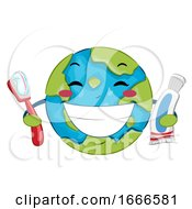 Earth Toothbrush Toothpaste World Oral Health Day