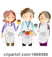 Parent Teacher Bake Sale Illustration