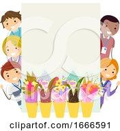 Stickman Parent Teacher Spring Flower Sale