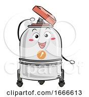 Sperm Bank Mascot Illustration