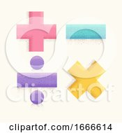 Math Operator Symbols Illustration