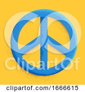 Peace Sign Symbol Illustration