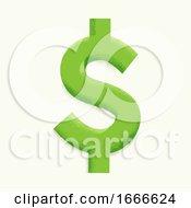 Dollar Sign Symbol Illustration
