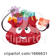 Mascot Gift Bag Illustration
