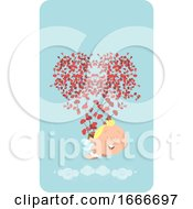 Poster, Art Print Of Valentine Cupid