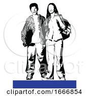 Teen Couple by leonid