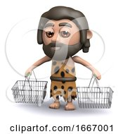 3d Caveman Shopper