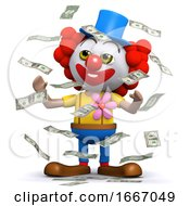 3d Clown Hits The Jackpot