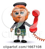 3d Scotsman Answers The Phone