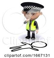3d Police Crime Scene