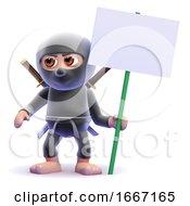 3d Ninja Protests